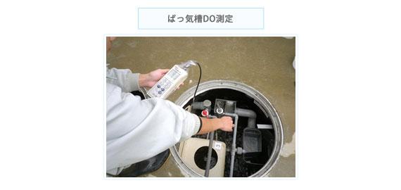 DO(溶存酸素)測定の写真