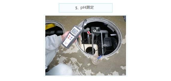 Ph測定の写真